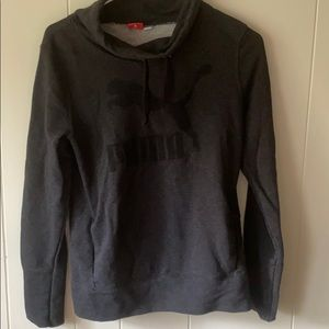 Puma Cowl Neck String Pull Over (Small)